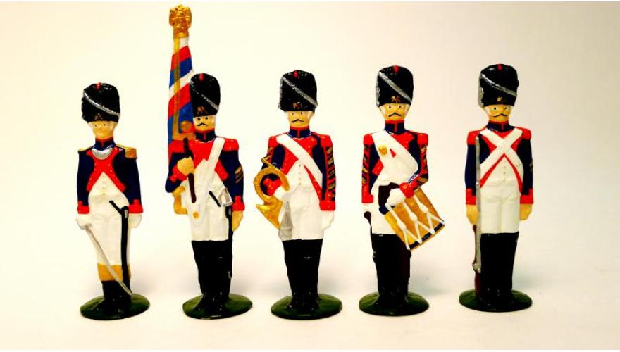 Оловянные солдатики изготовление